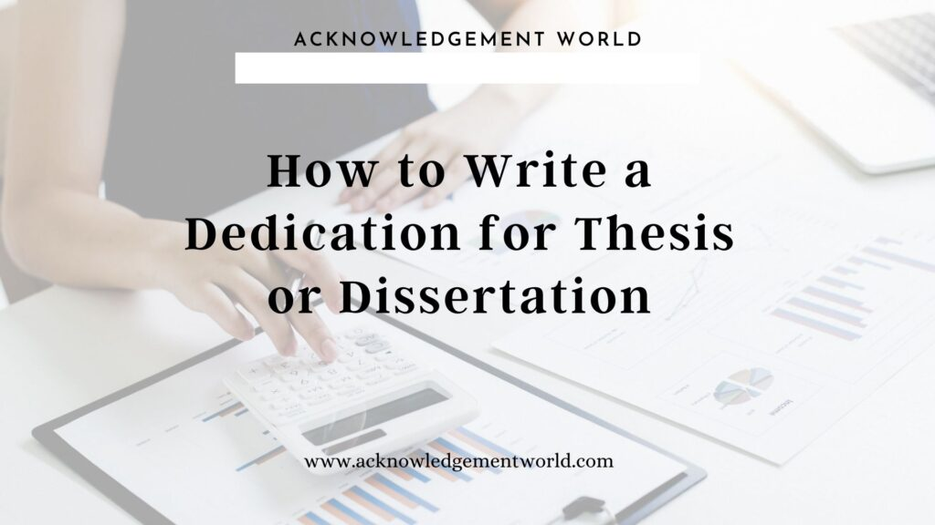 dedication for thesis