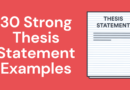 30 Strong Thesis Statement Examples For Your Research Paper