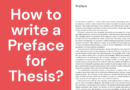 How to Write Preface for Thesis Paper?   2 Samples of Preface